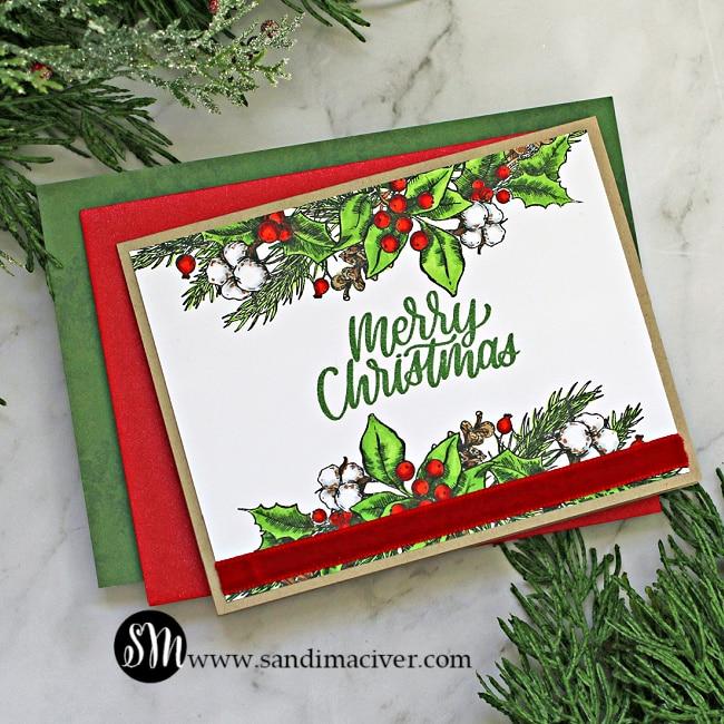SImon Says Stamp Joyful Seasons Card