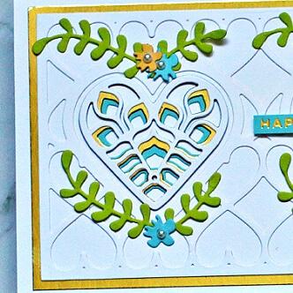 Spellbinders Kaleidoscope Hearts