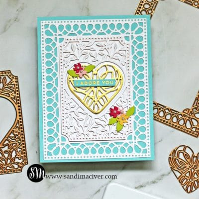 Spellbinders Lovely Card Creator