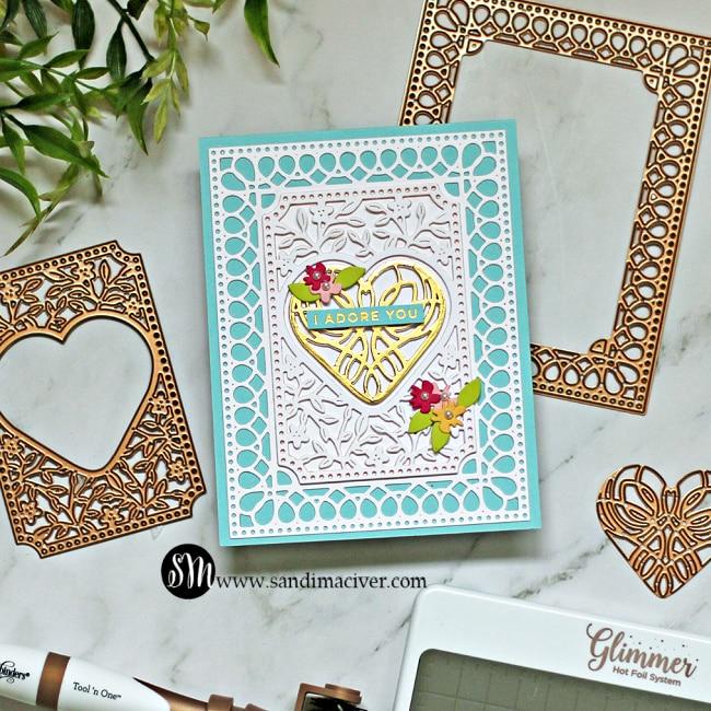 Spellbinders Lovely Card Creator