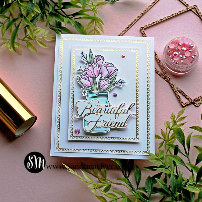 Spellbinders Feb Glimmer of the Month