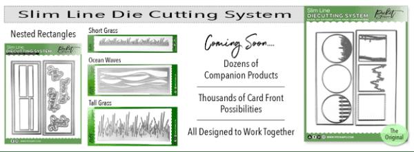Slimline Die Cutting System banner