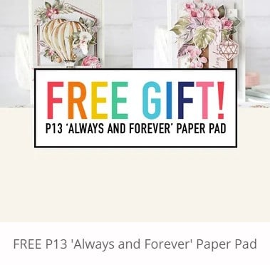 free gift paper pad from Spellbinders.com