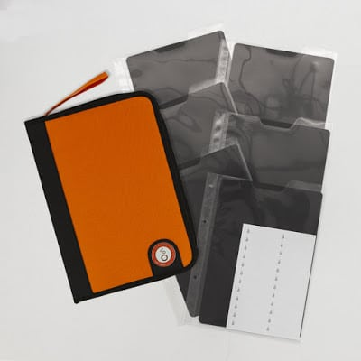 Tonic Studios A5 Binder used for storage of stamps and dies for card making and paper crafting